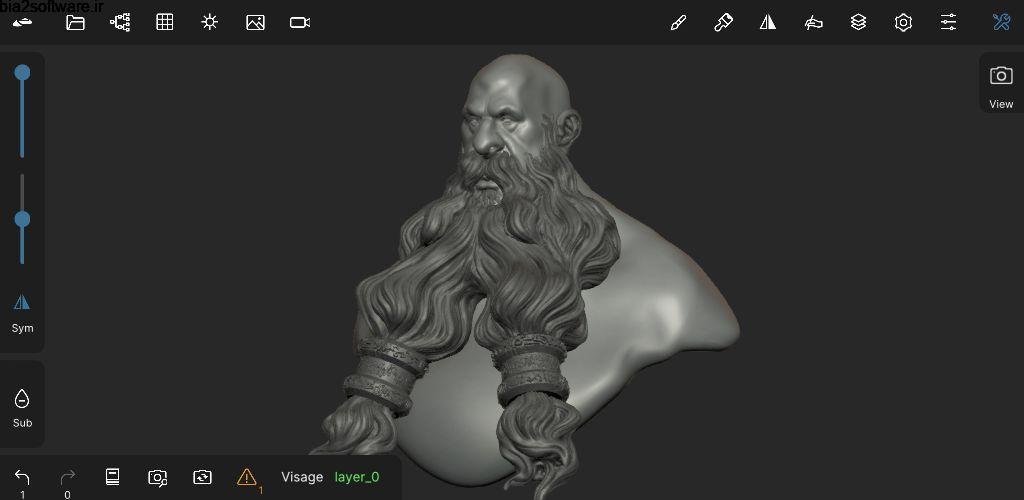 Nomad Sculpt 1.32.2 طراحی و مجسه سازی اندروید