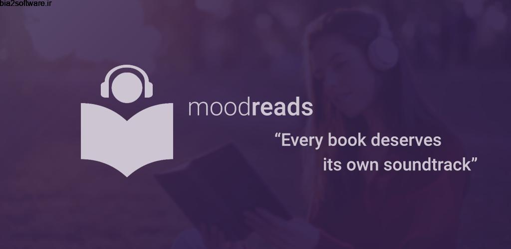 Moodreads: Music for reading 1.1.0 پخش موزیک در هنگام مطالعه مخصوص اندروید