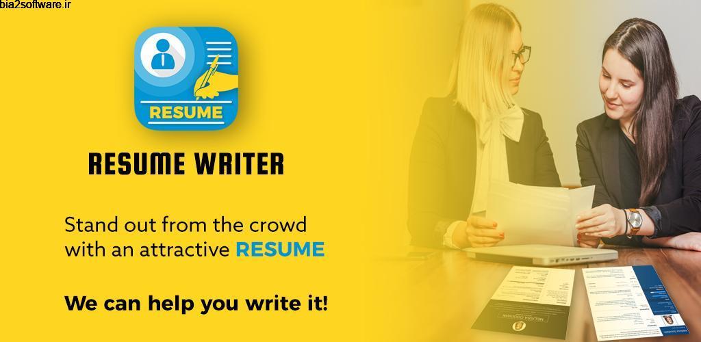 Resume Template, Resume Builder, Cover Letter 7.0 ساخت آسان و سریع رزومه مخصوص اندروید