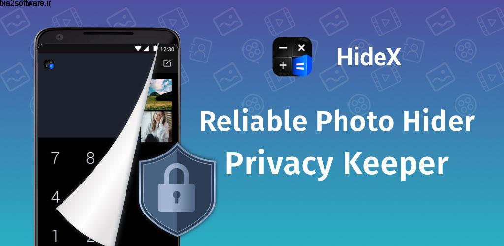 Calculator Lock – Lock Video & Hide Photo – HideX VIP 3.1.3.12 ماشین حساب قفل گذار و مخفی ساز مخصوص اندروید!