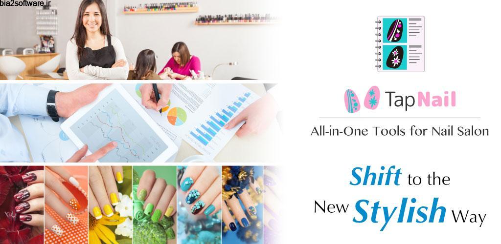 TapNail for Salon / Manicurist Full 5.0.3 مدیریت سالن کاشت ناخن اندروید !