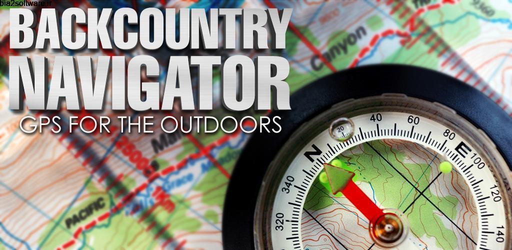 BackCountry Navigator TOPO GPS PRO 7.1.0 نقشه و مسیریاب آفلاین مخصوص اندروید